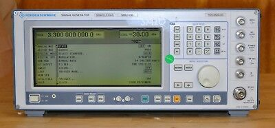 Rohde Schwarz SMIQ03B Vector Signal Generator 300khz-3.3GHz LOADED w/opts, GOOD