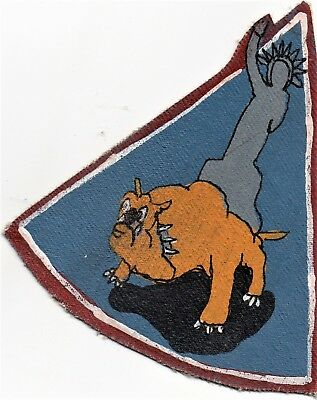 WW II era 354th Fighter Squadron (355th Fighter Group) RKO Style Patch