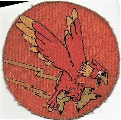 WW II era 22nd Pursuit Squadron RKO Style Patch