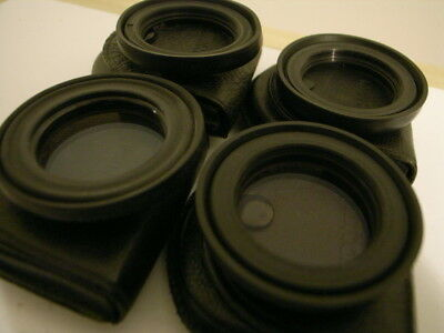 Minox 35 Series Lens Hoods X2 and Lens Hoods with Skylight Filters x2