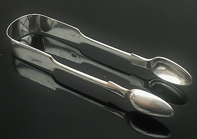 Silver Sugar Tongs, Exeter 1848, Robert,James & Josiah Williams