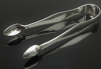 Silver Sugar Tongs, Sterling, c.1790, James Darquit Junior