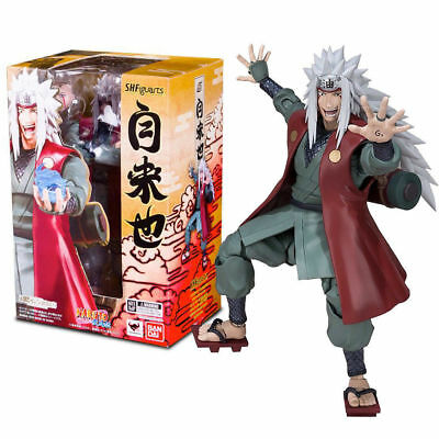 S.H Figuarts Jiraiya Naruto Action Figure Bandai Tamashii NEW IN STOCK US SELLER