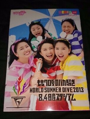 Momoiro Clover Z World Summer Dive Tour 2013 Official Brochure Vol. 3