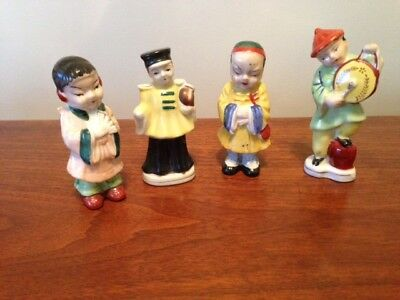 Vintage Hand Painted Japanese Figurine's Made in Japan & Occupied Japan