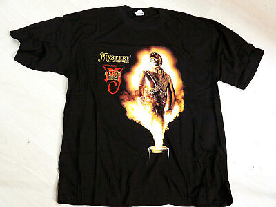 Michael Jackson - Official Vintage 1996 Mystery Tour T-Shirt - Size  Xxl - Mint