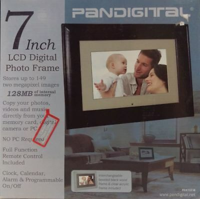 Pandigital Pantouch 7 Lcd Digital Photo Frame 2499 Picclick