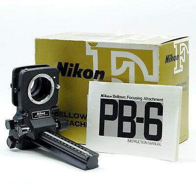 Nikon PB-6 Bellows Focusing Attachment (Near mint)
