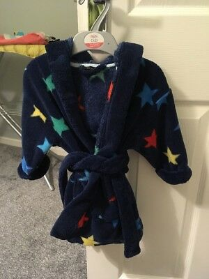 Next Boys Dressing Gown 9-12 Months