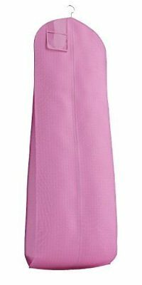 """Pink Breathable Wedding Dress Gown Garment Bag - Extra Long with 10"""" Gusse.."""