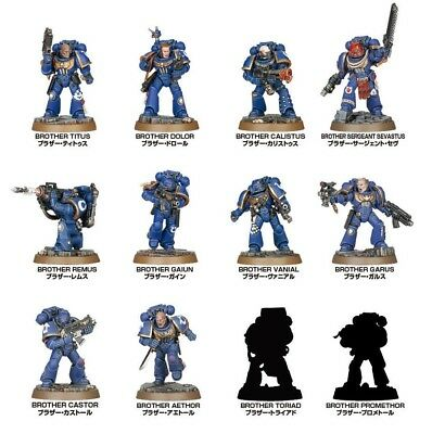 Space Marine Heroes Japan Only Limited 12 Unique Heroes Complete