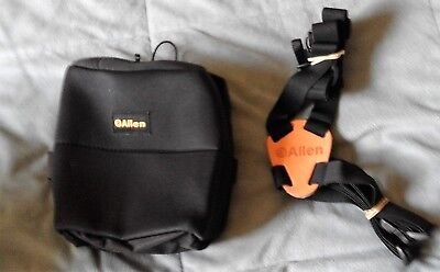 Allen Binocular Harness & Case (Black)