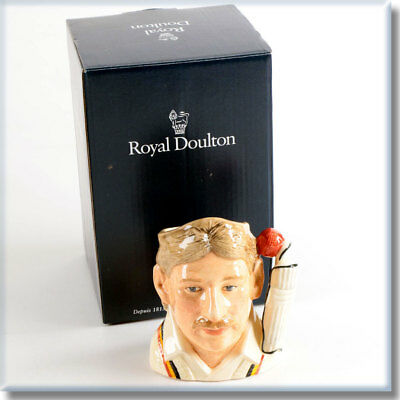 RARE Royal Doulton Ian Botham O.B.E. Character Jug Limited Edition Cricket D7091