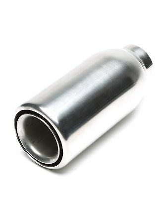 TA TECHNIX End pipe Stainless Steel Universal 2.99in/1 25/32in Round