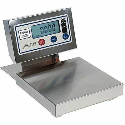Digital Scale & Readout Display Cardinal Detecto PZ3015L #7099 Commercial Weight