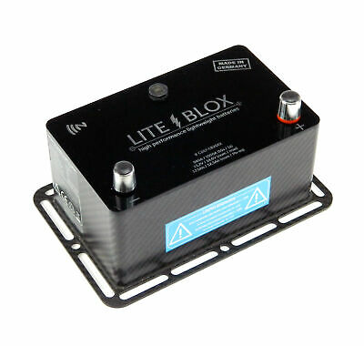 Liteblox Batteria Auto LB26xx High-Performance-Akkumulator Litio, LiFePO4