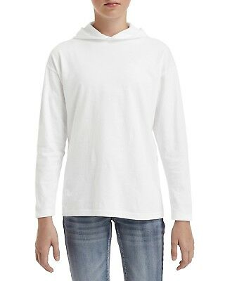 Anvil 987B Youth Long Sleeve Hooded T-Shirt
