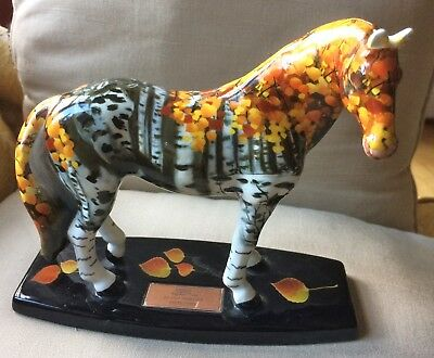 """Westland Horse Of A Different Color """" In The Treeline """" Horse #04658 of 10000"""