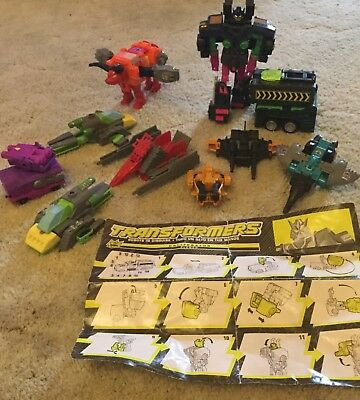 Transformers G2 Obliterator Clench and assorted G1 and 2 models
