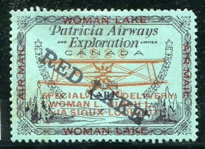 Canada Private Airmail  CL21  mint  Hinged  SIGNED  (black)