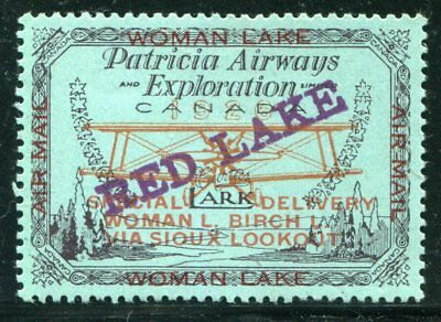 Canada Private Airmail  CL21a  mint  Light Hinged  SIGNED  (violet)