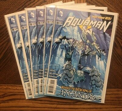 AQUAMAN # 19 DC New 52 1st Appearance King Nereus NM+