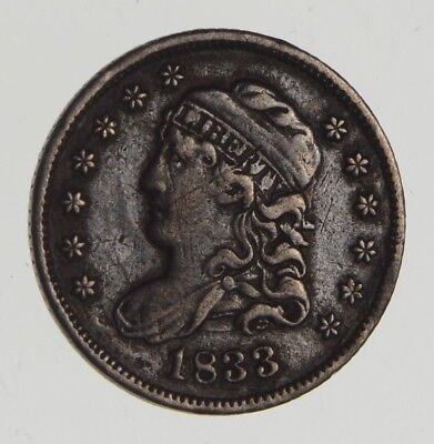 1833 Capped Bust Half Dime *0670