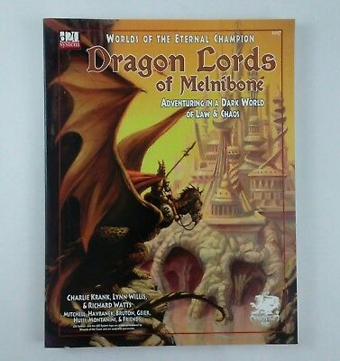 Chaosium Worlds Of The Eternal Champion Dragon Lords Of Melnibone