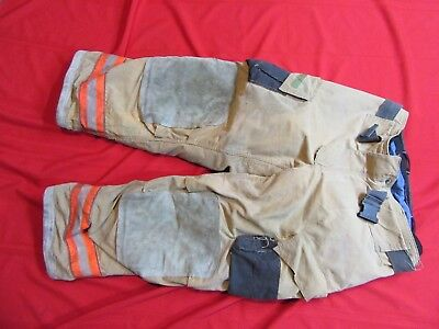 Cairns Firefighter Turnout Gear 40 x 30 REAXTION Pants NEED REPAIR COSTUME