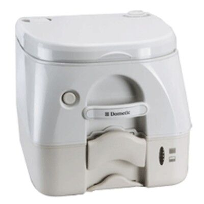 Dometic - SeaLand 974 Portable Toilet 2.6 Gallon - Tan w/Brackets