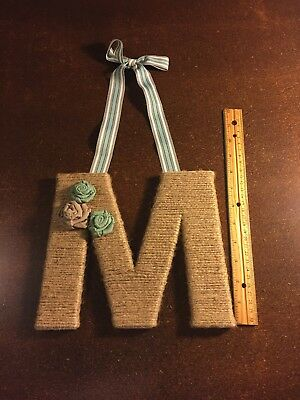 "Decorative Letter ""M"""