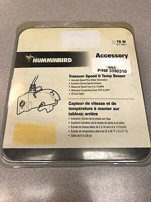 Humminbird Transom Speed & Temp Sensor | Free Shipping!