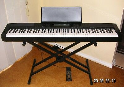 CASIO CDP-200R    88 Key Keyboard and Piano Stand