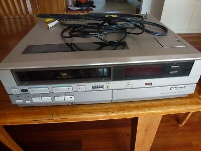National Vcr Vhs Player Nv-600-A Working