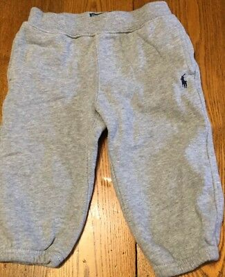Infant Boys Ralph Lauren Sweat Pants Size 12 Month