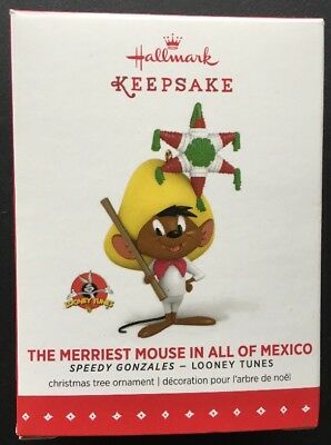 Hallmark THE MERRIEST MOUSE IN ALL OF MEXICO - Speedy Gonzales Looney Tunes 2015
