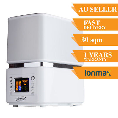 Ionmax Ion90 Hybrid Humidifier Ultrasonic Steam with UV Air Moisture Cool And Wa