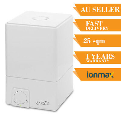 IONMAX Ion50 Humidifier Ultrasonic Steam Air Cool Mist