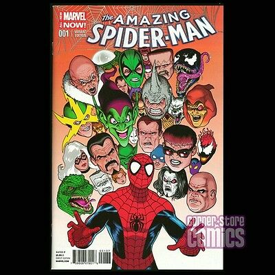 Amazing Spider-Man #1 v.3 KEVIN MAGUIRE Color Variant Cover MARVEL Comics VF/NM!