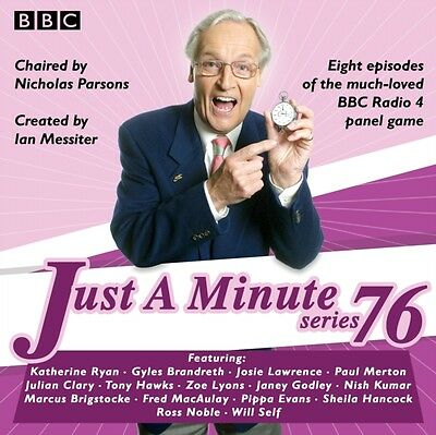 Just a Minute: Series 76: The BBC Radio 4 comedy panel game (Audio CD), BBC Rad.