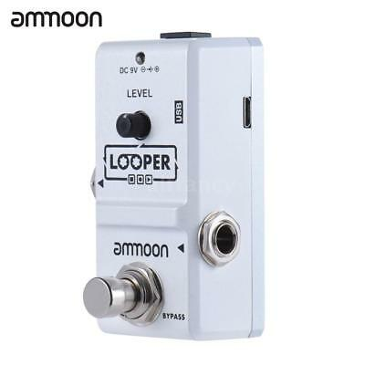 High-Quality Ammoon AP-09 Nano Loop Electric Guitar Effect Pedal W/USB Cable