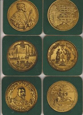 Gold Coin    Drink Placemats  As New