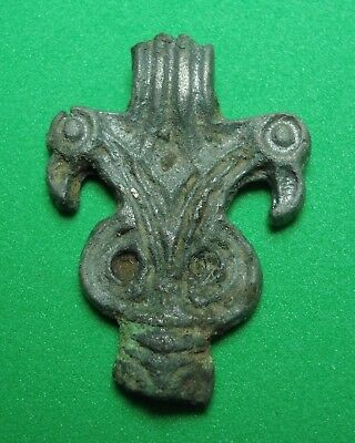 Very old thing is excavation, Lining Decoration Artifact Bronze Antique Rare