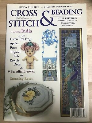 Jill Oxton's - Cross Stitch And Beading - Issue 64
