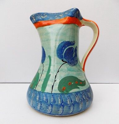 Myott Art-Deco Hand Painted Jug