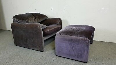 sessel ottoman mid century modern hunting chair germany 50er 50s 60er eiche chf 2. Black Bedroom Furniture Sets. Home Design Ideas
