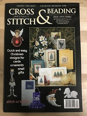 Jill Oxton's - Cross Stitch And Beading - Issue 63