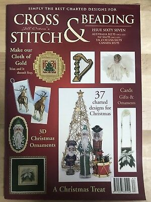 Jill Oxton's - Cross Stitch And Beading - Issue 67