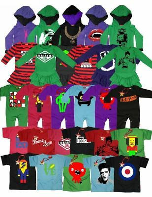BRANDED WHOLESALE JOB LOT PRINTED CHILDRENS CLOTHES DRESSES HOODY T-SHIRTS x 50