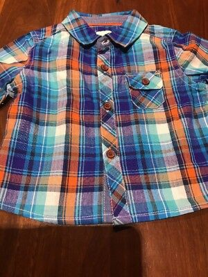 Baker Baby By Ted Baker Adorable Shirt 99cNR!!